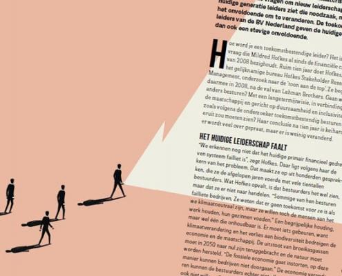 Rapportage Change Inc Magazine